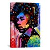 iCanvasArt 'Jimi Hendrix IV' by Dean Russo Graphic Art on Canvas