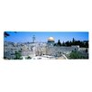 iCanvasArt Panoramic Jerusalem, Israel Photographic Print on Canvas