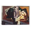 iCanvas 'Glas und Karaffe' by Juan Gris Graphic Art on Canvas