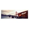 iCanvas Panoramic Golden Gate Bridge San Francisco, California Photographic Print on Canvas