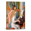 iCanvas 'Girls at The Piano' by Pierre-Auguste Renoir Painting Print on Canvas