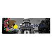 iCanvas Illinois Flag, Capitol Building Panoramic Graphic Art on Canvas