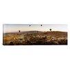 iCanvas Panoramic Hot Air Balloons over Cappadocia at Sunrise, Central Anatolia Region, Turkey Photographic Print on Canvas