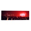 iCanvasArt Panoramic Fireworks Display at Night over a City, New York City, New York Photographic Print on Canvas