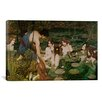 iCanvas Hylas and the Nymphs Painting Print on Canvas