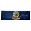 <strong>iCanvasArt</strong> Idaho Flag, Shoshone Falls Panoramic Graphic Art on Canvas