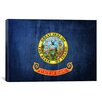 iCanvasArt Idaho Flag Graphic Art on Canvas