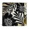 iCanvasArt Floral Jungle Lines I Canvas Wall Art