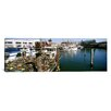 iCanvas Panoramic Fishing Boats at a Dock Fisherman's Wharf, San Francisco, California Photographic Print on Canvas