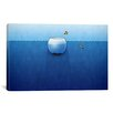 <strong>iCanvasArt</strong> Kids Children Fishbowl in the Ocean Canvas Wall Art