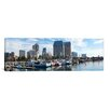 iCanvas Panoramic Fishing Boats Docked at a Marina, San Diego, California Photographic Print on Canvas
