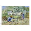 iCanvas 'First Steps (after Millet)' by Vincent van Gogh Painting Print on Canvas