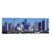 iCanvasArt Houston Panoramic Skyline Cityscape Photographic Print on Canvas