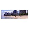 iCanvas Panoramic Oak Street Beach, Chicago, Illinois Photographic Print on Canvas