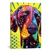 iCanvas German Short Hair Pointer by Dean Russo Graphic Art on Canvas