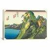 iCanvas Ando Hiroshige 'Hakone (Lake View)' by Utagawa Hiroshige l Graphic Art on Canvas