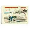 iCanvas 'Hara'  by Utagawa Hiroshige Painting Print on Canvas