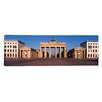 <strong>iCanvasArt</strong> Panoramic Building, Brandenburg Gate, Berlin, Germany Photographic Print on Canvas