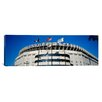 iCanvas Panoramic Flags in front of a Stadium, Yankee Stadium, New York City, New York Photographic Print on Canvas