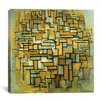 "iCanvas ""Facade, 1914"" Canvas Wall Art by Piet Mondrian"