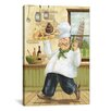 iCanvas Happy Chef II by Daphne Brissonnet Painting Print on Canvas