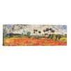 iCanvas 'Field of Poppies' by Vincent van Gogh Painting Print on Canvas