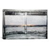 iCanvas Canada Hockey Goal Gate #2 Photographic Print on Canvas