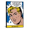 iCanvas 'In Love with Her (Roy Lichtenstein - Comic Books)' Graphic Art on Canvas