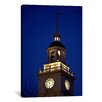 iCanvasArt Panoramic Independence Hall Tower Philadelphia, Pennsylvania Photographic Print on Canvas