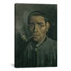 iCanvas 'Head of a Man' by Vincent Van Gogh Painting Print on Canvas