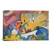 <strong>iCanvasArt</strong> 'Improvisation 3' by Wassily Kandinsky Painting Print on Canvas