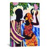 iCanvas 'In the Garden' by Keith Mallett Graphic Art on Canvas