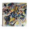 "iCanvas ""Improvisation Klamm"" Canvas Wall Art by Wassily Kandinsky Prints"