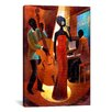 iCanvasArt In a Sentimental Mood by Keith Mallett Painting Print on Canvas