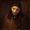 "iCanvas ""Head of Christ"" Canvas Wall Art by Rembrandt"