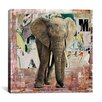 "iCanvas ""Elephant Torn"" Poster by Luz Graphics Graphic Art on Canvas"