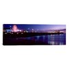 iCanvasArt Panoramic 'Santa Monica Pier, Santa Monica, California' Photographic Print on Canvas