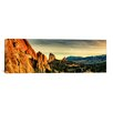 iCanvasArt Panoramic Colorado Springs Skyline Cityscape Photographic Print on Canvas