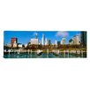 iCanvas Panoramic Columbia Yacht Club Chicago, Illinois Photographic Print on Canvas
