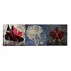 iCanvas Canada Hockey, Ice Skates, Mask, Sticks 3 Piece Graphic Art on Canvas Set