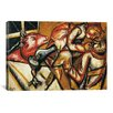 "iCanvasArt 'Interior ll, 1911"" by Marc Chagall Painting Print on Canvas"