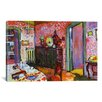 iCanvasArt 'Interior (My Dining Room)' by Wassily Kandinsky Painting Print on Canvas