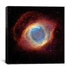 iCanvas Helix (Eye of God) Nebula (Hubble Space Telescope) Canvas Wall Art