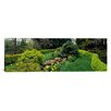 iCanvas Panoramic Ladew Topiary Gardens, Monkton, Maryland Photographic Print on Canvas