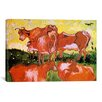 iCanvas 'Cows (after Jordaens)' by Vincent van Gogh Painting Print on Canvas
