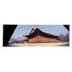 iCanvasArt Panoramic Courtyard of a Palace, Kyongbok Palace, Seoul, South Korea Photographic Print on Canvas