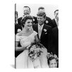 iCanvasArt 'File John and Jackie Kennedy Wedding' by Toni Frissell Photographic Print on Canvas