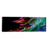 iCanvasArt Digital 'Fire Wave' Graphic Art on Canvas