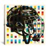 iCanvas Canada Hockey Mask Graphic Art on Canvas
