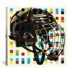 iCanvas Canada Hockey Mask Graphic Art on Canvas